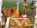 HH Karmapa Land Blessing